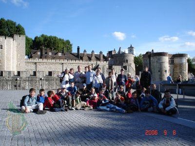 Przed Zamkiem Tower of London